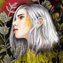 RETRATO ILUSTRADO CON PROCREATE . Um projeto de Ilustração digital de Elisabeth Kalon - 21.12.2020