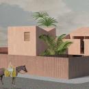 Mi Proyecto del curso: Representación gráfica de proyectos arquitectónicos. Un proyecto de Diseño, Arquitectura, Collage y Diseño 3D de Mayra Alexandra Oliva Aguilar - 22.12.2020