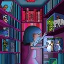 Ilustración Infantil, personajes . Un proyecto de Ilustración, Diseño de personajes e Ilustración infantil de Daniel Alcántara - 23.12.2020