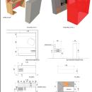 Mobiliario * Inmobiliaria Ruiz Central *. Um projeto de 3D e Arquitetura de Victor Pacciani - 19.11.2018