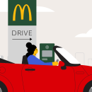 McDonald's. A Motion Graphics und Animation project by Dani Montesinos - 27.09.2020