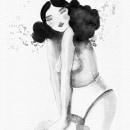 Mi Proyecto del curso: Introducción a la ilustración con tinta china. A Ink Illustration project by Eva Uviedo - 12.28.2020