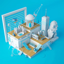 City. Un proyecto de 3D, Dirección de arte y Escenografía de David Sánchez - 23.10.2016