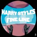 Fine Line Album Merch. Un proyecto de Ilustración de Camila Lozano - 28.12.2020