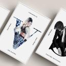Carteles documentales de moda. Um projeto de Design gráfico, Retoque fotográfico e Design de cartaz de Verónica Ibáñez - 24.03.2019