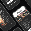 Diseño pantallas con In Vision. Um projeto de Retoque fotográfico e Design de apps  de Verónica Ibáñez - 16.11.2019