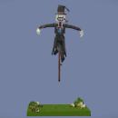 Voxel Art of Turnip head from Howl's moving castle . Um projeto de 3D, Design de personagens, Animação de personagens, Animação 3D, Modelagem 3D, Unit e Pixel Art de Frank Morales - 31.12.2020