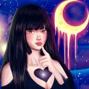 Corazón de la Vía Láctea. A Digital illustration project by Vladimir Medel - 01.01.2021
