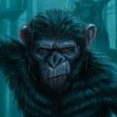 Dawn of the Planet of the Apes. Un proyecto de Ilustración e Ilustración digital de Elysa Castro - 02.01.2021