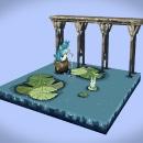 Voxel Totoro. Um projeto de 3D, Cinema, Vídeo, Rigging, Animação de personagens, Animação 2D, Animação 3D, Modelagem 3D, Pixel Art e 3D Design de Frank Morales - 03.01.2021