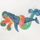 Mi Proyecto del curso: Técnicas de acuarela para ilustraciones de ensueño. Un proyecto de Ilustración y Pintura a la acuarela de Romina Yévenes Biénzobas - 04.01.2021