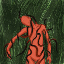 Gusanos de cuerda. Un proyecto de Ilustración, Dibujo, Ilustración digital, Dibujo digital y Teoría del color de Raquel Guirao Zaragoza - 25.11.2020