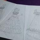 Creación de personaje, bruja victoriana. . Un proyecto de Dibujo y Diseño de personajes de Oriana Garzón Montoya - 23.06.2020