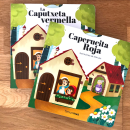 Caperucita Roja. Un proyecto de Ilustración editorial de Marta García Pérez - 01.02.2018