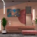 Camerino. Un proyecto de 3D, Arquitectura interior, Diseño de interiores, Modelado 3D, Decoración de interiores e Interiorismo de Jonatan Siria Sanchez - 29.11.2020
