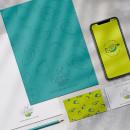Sol Coronel Nutricionista. Un projet de Illustration, Br, ing et identité, Design graphique , et Création de logo de Andrea Vega - 05.01.2021