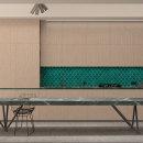 Kitchen. Un proyecto de 3D, Arquitectura interior, Diseño de interiores, Modelado 3D, Decoración de interiores e Interiorismo de Jonatan Siria Sanchez - 10.12.2020