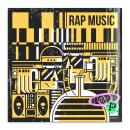 Rap Music - Hood P. Un proyecto de Diseño, Ilustración, Música, Audio, Dirección de arte, Diseño de personajes, Diseño gráfico, Arte urbano, Creatividad, Dibujo, Ilustración digital, Concept Art, Diseño digital, Comunicación e Ilustración editorial de bures - 09.01.2021