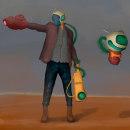 Mi Proyecto del curso: Pintura digital de personajes: ilustra con luz y color. Um projeto de Pintura digital de Ariel Grillo - 09.01.2021