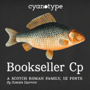 Bookseller Cp. Um projeto de Tipografia e Desenho tipográfico de Damián Guerrero Cortés - 16.12.2020
