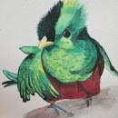 Quetzal. Un proyecto de Pintura a la acuarela de Selene Oviedo - 10.01.2021