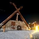 Proyecto: Cabaña Vikinga. Un proyecto de 3D, Modelado 3D y Diseño 3D de Sebastian Orozco - 12.01.2021