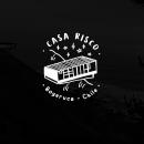 Casa Risco. Um projeto de Design, Ilustração, Design gráfico, Design de logotipo e Ilustração Arquitetônica de Delfina Mendoza - 15.01.2021