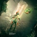 Fish man. Un proyecto de Ilustración digital, Concept Art y Fotomontaje de Jandro Revert - 01.01.2021
