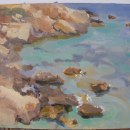 Algunas de mis pinturas al aire libre. A Oil painting project by Leticia Oggero - 01.16.2021