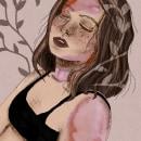 Mi Proyecto del curso: Retrato ilustrado con Procreate. A Portrait illustration project by Maria Clara Loaiza - 01.17.2021