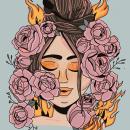 Mi Proyecto del curso: Retratos digitales con estilo propio en Procreate. A Illustration, and Portrait illustration project by Maria Clara Loaiza - 01.17.2021