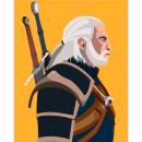 Geralt de Rivia . Un proyecto de Ilustración de Lucas Lopes Silva - 18.01.2021