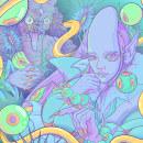 La creación de la oscuridad Risografia . Un proyecto de Dirección de arte, Arte urbano e Ilustración digital de Enrique Montiel Ayala - 20.01.2021