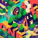 Mi Proyecto del curso: Ilustración vectorial isométrica desde cero. Um projeto de Ilustração, Design gráfico, Ilustração vetorial, Criatividade, Desenho, Ilustração digital, Pintura em aquarela, Design digital e Desenho digital de Claudia Silva - 25.01.2021