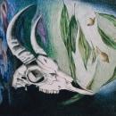 Mi Proyecto del curso: Retrato creativo en claroscuro con lápiz. Un proyecto de Dibujo artístico de maru_b - 25.01.2021