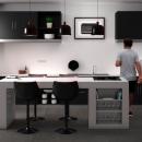 Red cooler. Un proyecto de Arquitectura, Arquitectura interior y Diseño 3D de Vicente Martínez Guaita - 25.01.2021