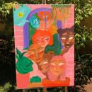 Mulheres à tinta óleo. A Drawing project by Giulieba - 01.26.2021