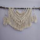 Mi Proyecto del curso: Introducción al macramé: creación de un tapiz decorativo. Un proyecto de Macramé de Raquel García - 27.01.2021