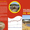 Triptico turístico Molinos del río Tinto. Un proyecto de Diseño gráfico, Diseño de carteles, Fotografía en exteriores y Comunicación de Ildefonso Martin - 18.04.2018