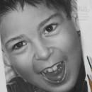 """""""Tiago 4"""", Grafito sobre papel. Um projeto de Ilustração, Desenho a lápis, Desenho, Desenho de Retrato e Desenho realista de Néstor Canavarro - 28.01.2021"""
