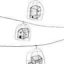 """Trabajo editorial para Ediciones Esdrújula, """"Sonetos para el fin del mundo conocido"""". Un proyecto de Diseño editorial e Ilustración editorial de María Gómez-Carreño Infantes - 17.12.2020"""