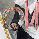 Rural mural: el Corpus Christi de Camuñas. Un proyecto de Pintura, Arte urbano y Pintura acrílica de María Gómez-Carreño Infantes - 05.07.2020