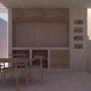Mi Proyecto del curso: Representación gráfica de proyectos arquitectónicos. Um projeto de Arquitetura de interiores, Design de interiores, Pintura em aquarela, Arquitetura digital e Visualização arquitetônica de Fabrizio Miranda - 02.02.2021