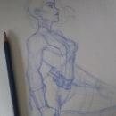 Estudio de Musculos. A Illustration project by Erica Perez - 02.02.2021