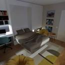 My project in Interior Design from Start to Finish course. Un proyecto de Diseño de interiores de Robert Niculescu - 03.02.2021