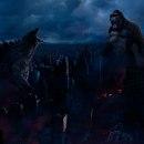 Meu Projeto: Kong Vs Godzilla. A Concept Art project by Caue Rocha Pereira - 02.04.2021