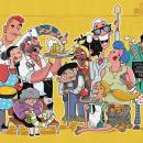 Ilustraciones para app, animación y wellcome pack de tarjeta de crédito. Un proyecto de Ilustración, Diseño de personajes y Animación de personajes de Juanma García Escobar - 04.02.2021
