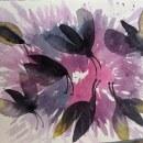 Polillas en Acuarela . Un proyecto de Ilustración, Pintura a la acuarela e Ilustración con tinta de Brenda Oliva - 05.02.2021