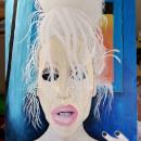 "Pintura al óleo ""Gina Harrison"". Un proyecto de Pintura al óleo de Atala Michell Pérez - 07.02.2021"