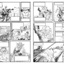 Mi Proyecto del curso: Técnicas de entintado para cómic e ilustración. Un proyecto de Illustración editorial de Aless J. M. - 07.02.2021